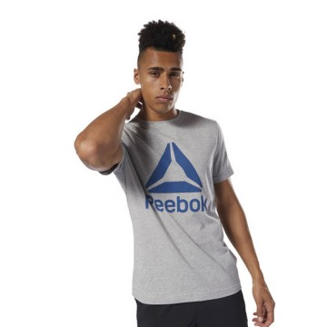 Купить Футболка Reebok QQR Stacked DH3774
