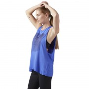 Майка REEBOK MUSCLE TANK Blue CD7687