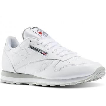 Кроссовки Reebok Classic Leather White (Белые) 2214