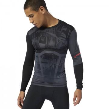 Купить Компрессионная футболка с длинным рукавом REEBOK TRAINING DP6563